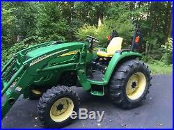 2004 John Deere 4320 4wheel drive hydro trans