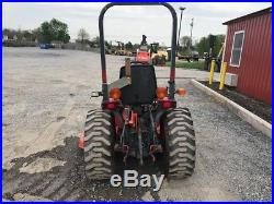 2004 Kubota B7510 4x4 Hydro Compact Tractor with Mower