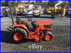 2004 Kubota B7800 4x4 Compact Tractor 60 Mower, Front Hydraulic Blade