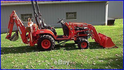 2004 Kubota BX 22 Backhoe Tractor 4x4