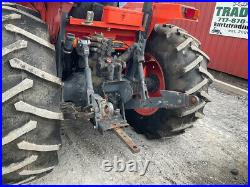 2004 Kubota M8200 4x4 82hp Utility Tractor with Loader & Canopy Clean Only 1200Hrs