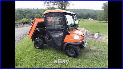 2004 Kubota RTV900 UTV Utility Vehicle Cab Heat 4x4 Diesel Dump Side By Side