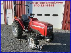 2004 Massey Ferguson 1429 Tractor 28hp Diesel 4x4 Shuttle 107 Hrs Very Nice Look