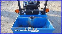 2004 NH TZ18DA Compact Loader Tractor
