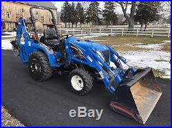 2004 New Holland TC24DA Tractor Loader Backhoe