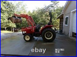 2005 Branson 3510 4X4 tractor with loader