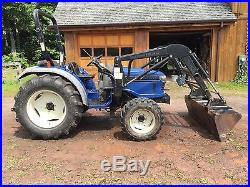 2005 Farmtrac 360 DTC Tractor 4X4 With Loader 40 HP 730 Hours