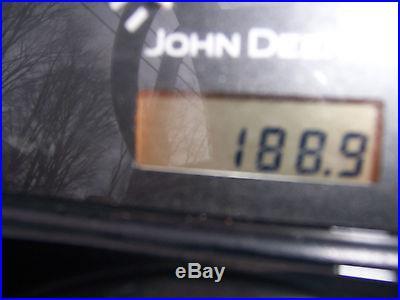 2005 JOHN DEERE 3320 TRACTOR LOADER BACKHOE