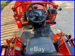 2005 Kubota B7800 Tractor, 4WD, Hydro Transmission, 30HP, 266 Hours, Garage kept