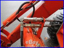 2005 Kubota L39 4x4 Loader Utility Ag Tractor PTO 4in1 Bucket Aux Hyd 42 Forks