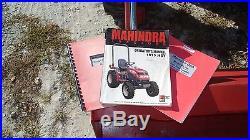 2005 MAHINDRA 1815 4X4 COMPACT FARM TRACTOR FRONTEND LOADER BACKHOE