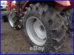 2005 TYM T700 Tractor, Cab/Heat/Air, 70HP, LT700 Loader, 3 Remotes, 1,194 Hours