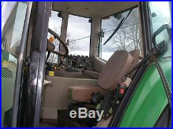 2006 JOHN DEERE 6420 4 X 4 CAB LOADER TRACTOR