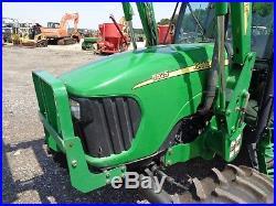 2006 John Deere 5525 Tractor, Cab/Heat/Air, 4WD, Loader, Power Reverser, 1440Hrs