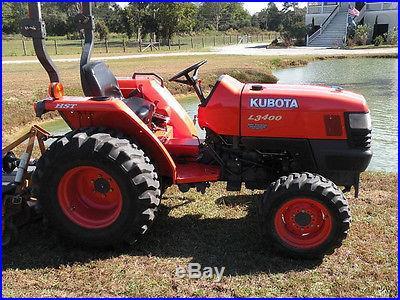 2006 Kubota L3400 HST 4X4 w/ Attachments