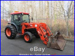 2006 Kubota L5030D 4WD Utility Ag Tractor Loader 50HP Diesel Heated Cab Aux Hyd