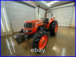 2006 Kubota M6800 Orops 4wd Tractor
