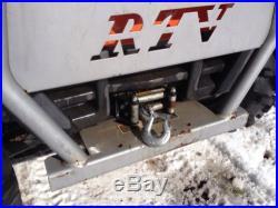 2006 Kubota RTV900 UTV Utility Vehicle 4x4 Diesel Side By Side Hydro Dump Bed