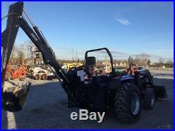 2006 Landtrac 450 4x4 Compact Tractor Loader Backhoe