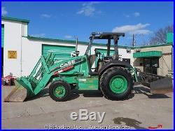 2007 Case 570 MXT 4x4 Skip Loader Tractor Box Scraper bidadoo