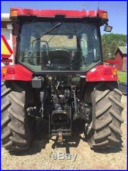 2007 Case IH JX1100U Tractor 99hp Case IH 24 Speed with Case 730 Loader