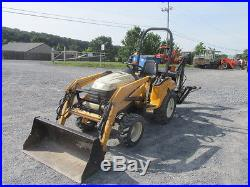 2007 Cub Cadet 6284 4x4 Diesel Compact Tractor Loader Backhoe