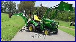 2007 John Deere 2305 4x4 Tractor With Loader And Backhoe