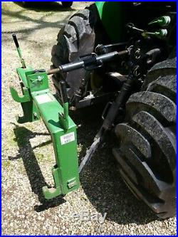 2007 John Deere 3320 Tractor with 300CX Loader & Attachments