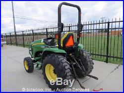 2007 John Deere 3520 4x4 Ag Tractor Aux Hyd Mid / Rear PTO eHydro Farm Utility