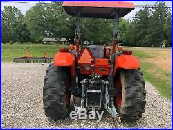 2007 KUBOTA M5040 50HP Loader 4WD Tractor