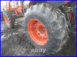 2007 KUBOTA M7040 TRACTOR With LOADER, CAB, 4X4,540 PTO, LHR, HEAT A/C, 854 HRS