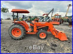 2007 Kubota L4400 Tractor, 4WD, LA703FL SSL QA, R4, NO EMISSIONS, 549 Hours