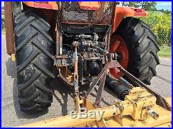 2007 Kubota M105-S Tractor withDiamond Triple Flail Mowers nMississippi NO RESERVE