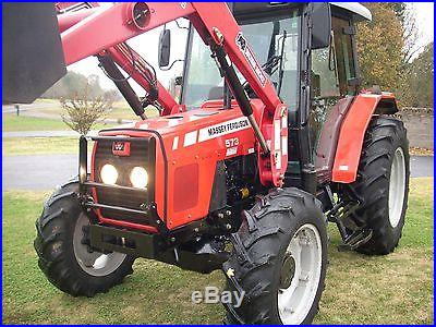 2007 MASSY FERGUSON 573 CAB+LOADER+4X4 WITH 2290 HRS. VERY GOOD TRACTOR! @@