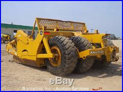 2008 John Deere 1810E 18 Cubic Yard Ejector Pull Scraper Farm Attachment