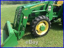 2008 John Deere 5103 4x4 tractor. 359 hours