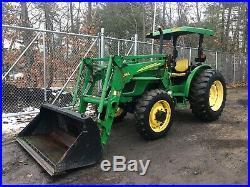 2008 John Deere 5425 4X4 Loader Tractor Diesel AWD
