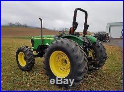 2008 John Deere 5625 Ag Utility Farm Tractor 4x4 Diesel Engine 99HP PoweReverser