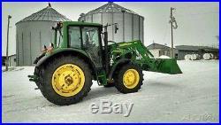 2008 John Deere 6430 Tractor 110 John Deere 16 Speed Power Quad IOWA