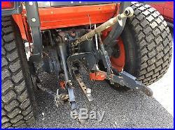 2008 Kubota L3240 Diesel 4wd Tractor Very Low Hours