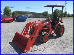 2008 Kubota B3030 4X4 Hydro Compact Tractor with Loader
