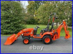 2008 Kubota BX24 Tractor LA240 loader BT601 Backhoe