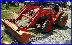 2008 Kubota L3240 Tractor 4x4 Hydro Loader