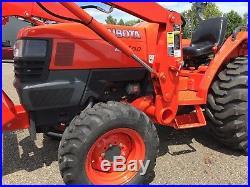 2008 Kubota L3400 Diesel 4 WD Tractor