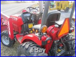 2008 MAHINDRA 2015HST COMPACT TRACTOR With LOADER. 4X4. HYDRO. DIESEL. NICE UNIT