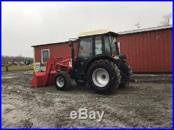2008 Mahindra 4510C 4x4 Compact Tractor with Cab & Loader Only 300 Hours