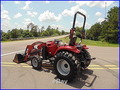 2009 Case IH Farmall 31 Farm Utility Tractor w/L-340 Front Loader 4x4 NO RESERVE