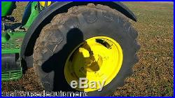 2009 John Deere 5105M Ag Utility Farm Tractor Diesel Engine 4x4 Machine 95 HP