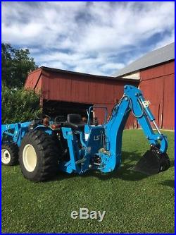 2009 LS S3010 28.5 HP Tractor W Backhoe New Holland Only 69 Hours