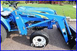 2009 NEW HOLLAND T1510 FARM TRACTOR 110TL LOADER 117 HOURS AMAZING NO RESERVE